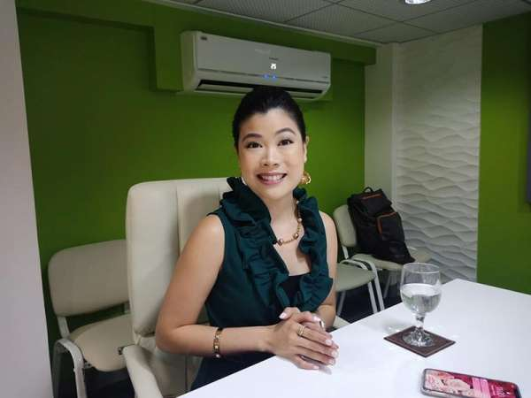 DAVAO. Joji Ilagan Career Center Foundation, Inc. (JIB) vice president for education and chief executive officer Nicole Hao Bian said they will also offer professionals in the events management industry to maintain an international standard. (Photo by Lyka Casamayor)
