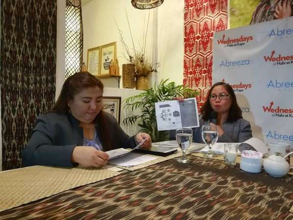 DAVAO. Minda Project Development Division head Joan Barrera said that they have identified seven pilot areas for agri-economic zones (AEZs). (Photo by Lyka Casamayor)