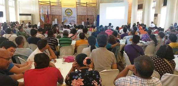 BACOLOD. Stakeholders attend the Investment Forum for Livestock and Poultry Industry held at the Provincial Capitol's Social Hall in Bacolod City Wednesday, March 20, 2019. (EPN)