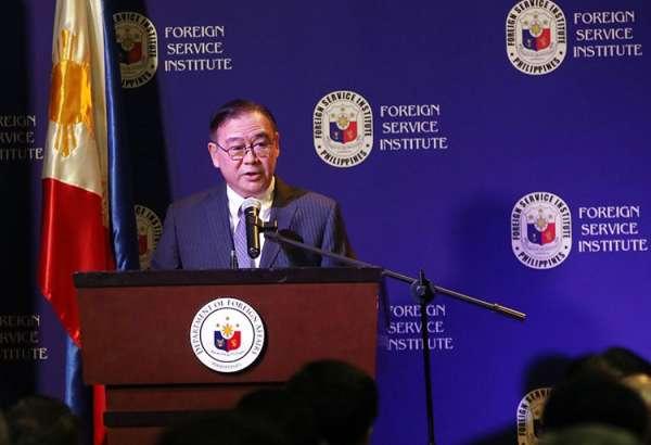 MANILA. Foreign Affairs Secretary Teodoro Locsin. (Al Padilla/SunStar Philippines)