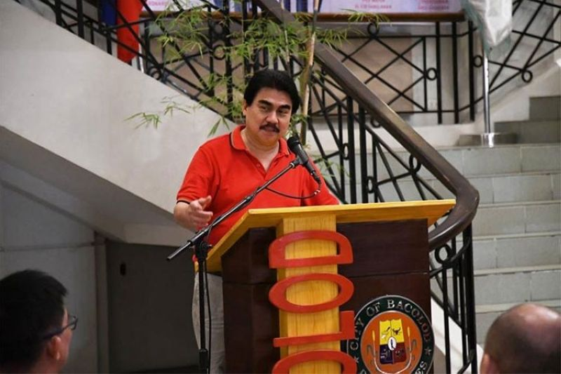 BACOLOD. Bacolod City Mayor Evelio Leonardia. (Photo from Bacolod City PIO)