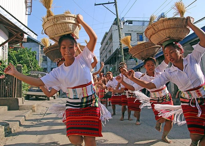 BAGUIO. Street dancers from the different municipalities of Mountain Province are expected to fill the streets of Bontoc next month for the highlight of the 15th Lang-ay Festival and 52nd founding anniversary of the province on April 6 to 7. (SSB photo)