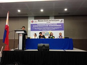 DAVAO. The Mindanao Transportation Cooperatives Congress on March 20, 2019 at the SM Convention Center, Lanang, Davao City was attended by around 85 transport cooperatives in Mindanao. (Photo by Lyka Casamayor)