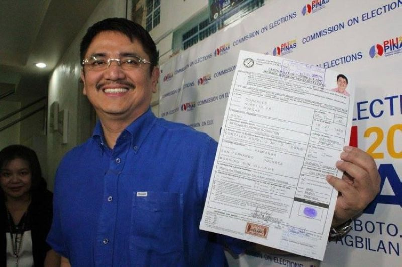 PAMPANGA Third District Representative Aurelio Gonzales Jr.  (SunStar File)