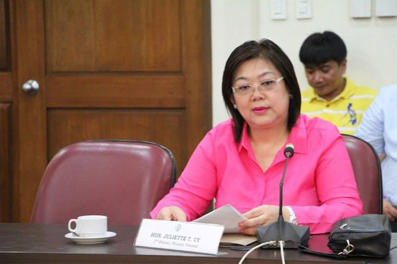 MANILA. Misamis Oriental 2nd District Representative Juliette Uy. (Photo from Juliette Uy's Facebook account)