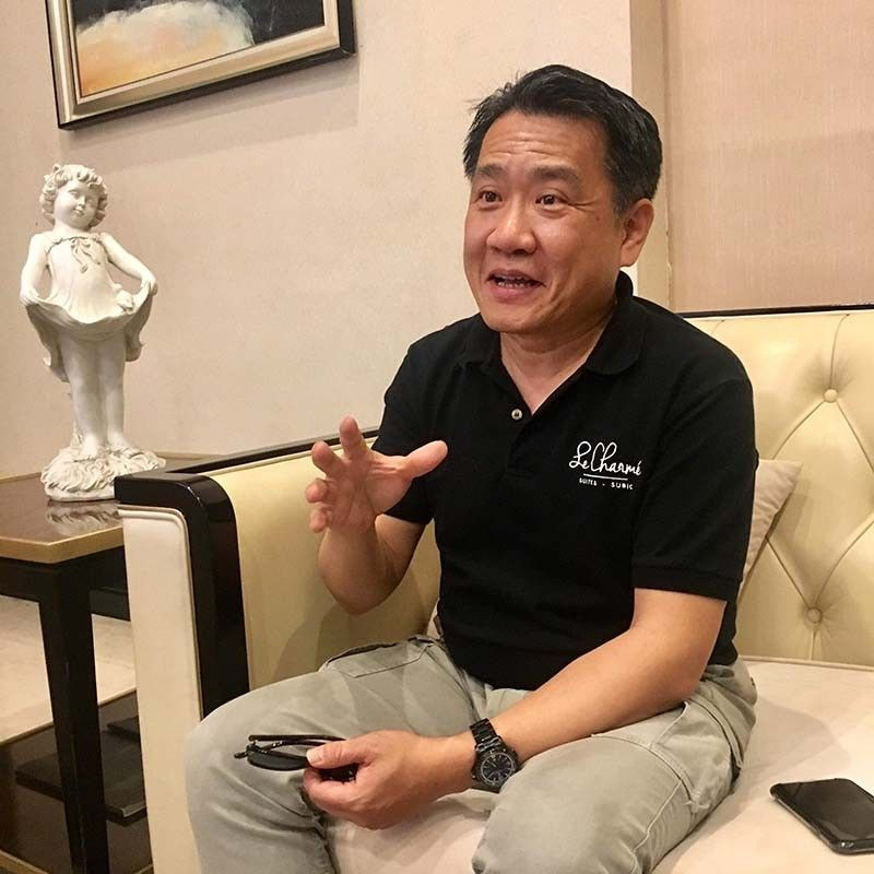 Opportunity. Grand Pillar International Development Inc. chairman Johnson Yang says Taiwan's trial visa-free access has heightened travel between Taiwan and the Philippines. (Contributed Photo)