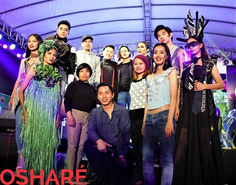 BAGUIO. De Stijl Image Reinvented for the Panagbenga ECOture Fashion Show at Session Road in Bloom. (Contributed photo)