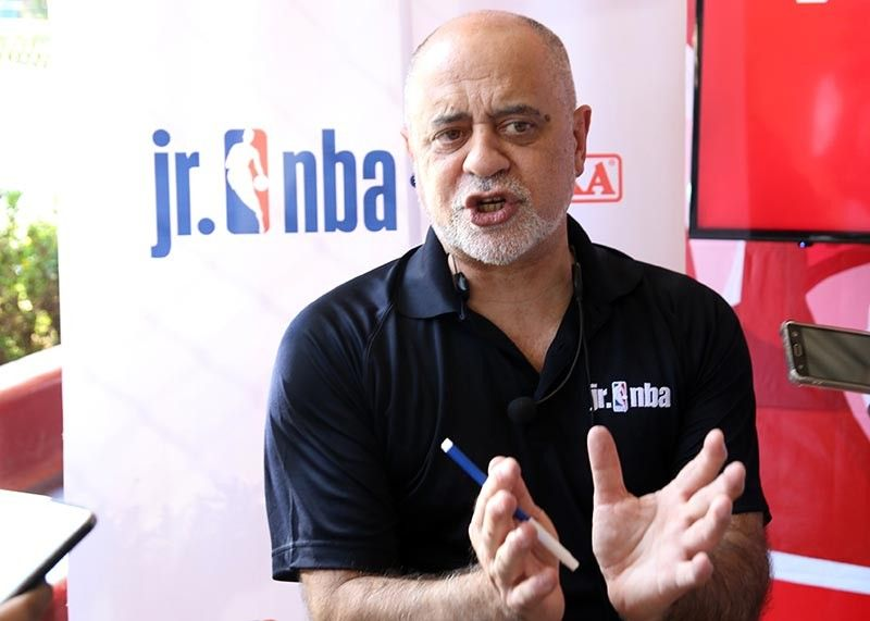 BAGUIO. Coach Carlos Barroca of the NBA bring the league's youth basketball participation program to teach basketball fundamentals and impart core values of the game to boys and girls ages 10-14 in the Jr. NBA Philippines Regional Selection Camp slated March 23 and 24 at the Benguet State University. (SSB photo)