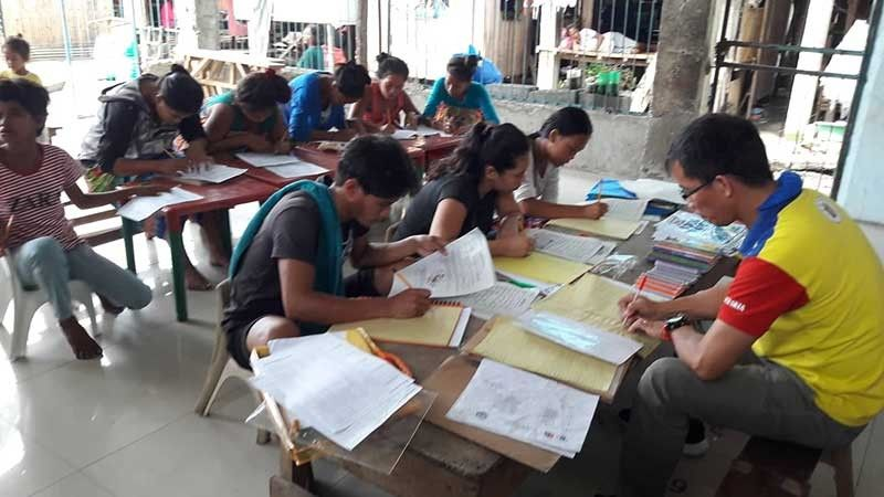 EDUCATION FOR ALL. The government has established the Alternative Learning System in a bid to provide access education for those who are unable to go to schools. (Contributed photo)