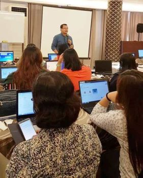 BACOLOD. Participants of the Capability Building Training Workshop on Knowledge, Attitude and Practice Survey. (Contributed photo)