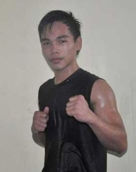 Caption: Southpaw Vincent Dayaganon of Davao City. (LDR Photo)