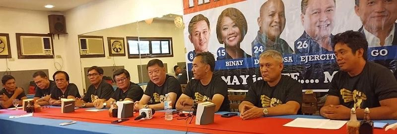 NEGROS OCCIDENTAL. Tatak Kalamay, a newly formed movement composed of sugar industry stakeholders, endorses seven Senate bets, none of whom are Negrenses. The group believes its Magic 7 are sugar industry champions. (Photo contributed by Richard Mariveles)