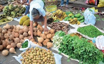 SPIKE: Persistent drought condition has caused a spike in vegetables and flower (below) prices in Carbon market. But, more than the price hike, vendors are bracing for the impact of El Niño on the supply of agri-products. Weather bureau Pagasa has already declared the start of the dry season. (SunStar file photos)
