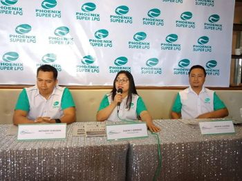 DAVAO. Phoenix general manager for Visayas and Mindanao Evelyn Gerodias said there was a 14 percent increase in sales from 2017 to 2018 of their Phoenix Super LPG. (Photo by Lyka Casamayor)