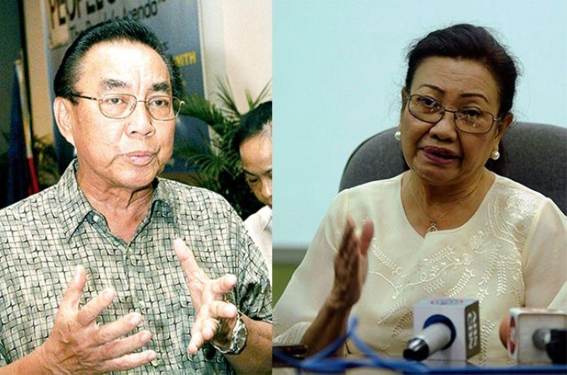 CEBU. Antonio Yapha (left) and Cebu Vice Governor Agnes Magpale. (SunStar File)