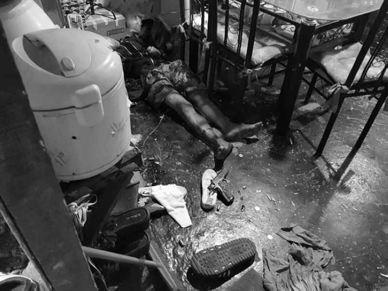 CEBU. Suspected drug seller Alex Cuyogan was killed along with his live-in partner Johanna Mae Dilar when they were operated upon by operatives of the Provincial Intelligence Branch (PIB) at their home in Sitio Mananga 2, Barangay Tabunok in Talisay City. (Contributed photo/ Provincial Intelligence Branch)