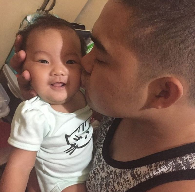 DAVAO. This is one of the sweetest gestures that my husband could express to show his love for our child. (Ara Casas-Tumuran)