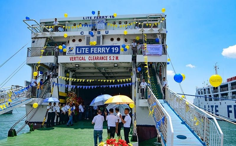 MORE ROUTES. Aside from serving passengers, roll on-roll off vessels serve vehicles carrying goods from one province to another, boosting economic activity in the routes they serve. (SunStar photo / Arni Aclao)