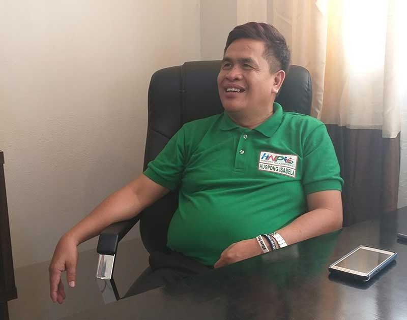 """NEGROS. Mayor Joselito Malabor in an interview said the impact of the dry weather to the locality's agriculture sector is already """"alarming."""" (Erwin Nicavera)"""