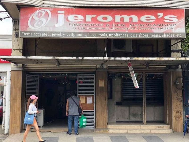 CEBU. The Cebu City government, in its position paper, is asking the court to junk the plea of Jerome's Pawnshop and General Merchandise to stop the closure of its nine branches, citing that the closure was already implemented. (SunStar file photo)