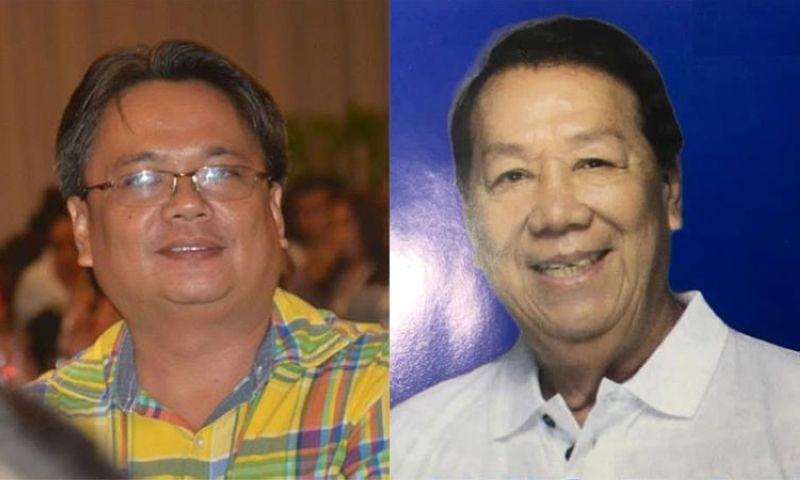 CEBU. Cebu City Councilor Alvin Arcilla and Councilor Sisinio