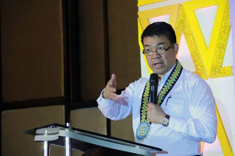 CAGAYAN DE ORO. In this file photo, Senator Aquilino Pimentel III delivers a speech in Cagayan de Oro City. (Grabbed from Pimentel's Facebook)