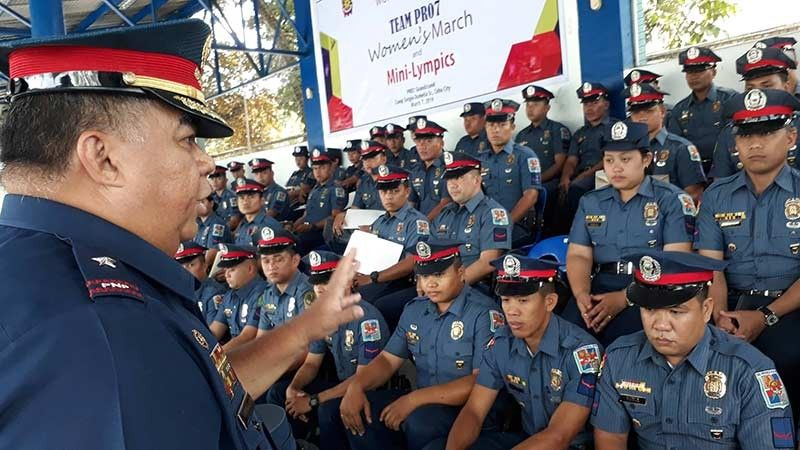 Full Alert: Isip pagpangandam sa anibersaryo sa New People's Army (NPA) ug sa pagsugod sa local campaign sa umaabot piniliay, si Police Regional Office (PRO) 7 chief Debold Sinas mideklarar og full alert sa Central Visayas. (File Photo)
