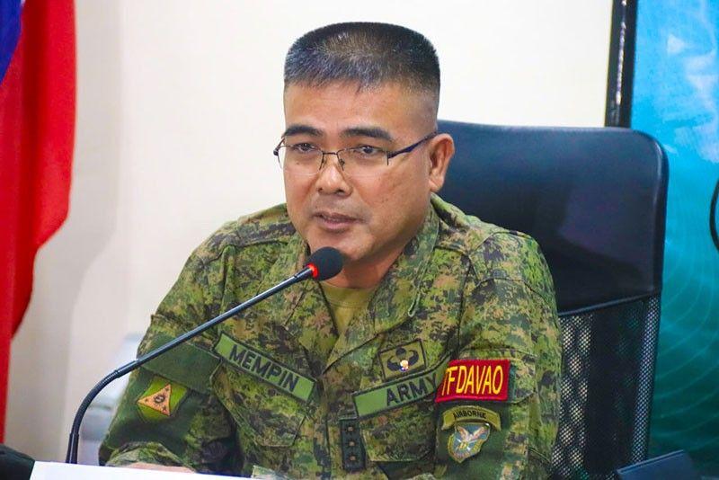 DAVAO. Task Force Davao commander Colonel Nolasco Mempin. (Photo by Juliet Revita)