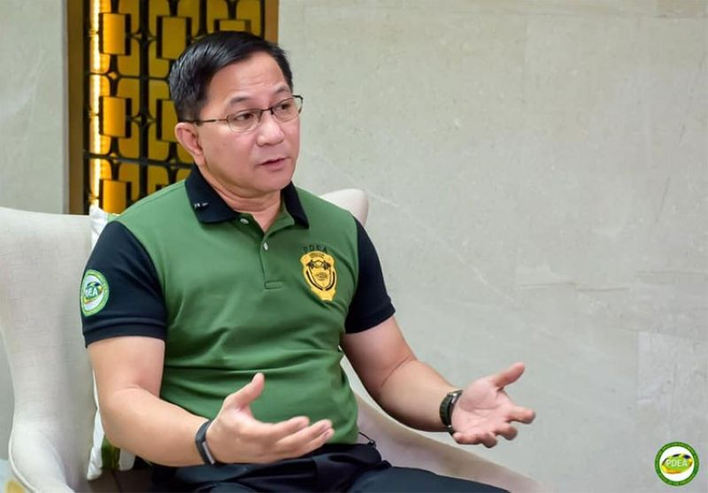 MANILA. Philippine Drug Enforcement Agency (PDEA) Director Aaron Aquino. (Photo from PDEA Top Stories Facebook page)