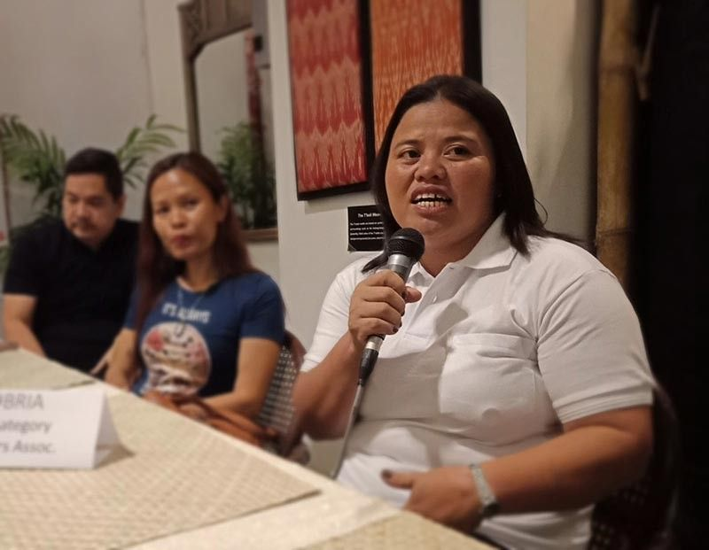DAVAO. Marivic Dubria, champion of the Philippine Coffee Quality Competition (PCQC) 2019 in the Arabica category said they will prioritize supplying the Philippine market of good quality coffee before exporting to other countries. (Photo by Lyka Casamayor)