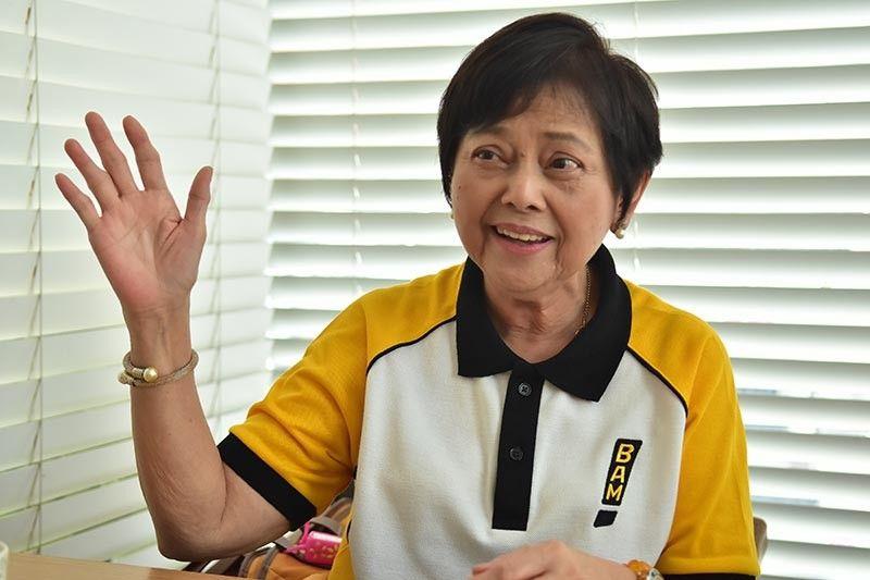 DAVAO. Si Melanie Aguirre-Aquino inahan ni Senador Bam Aquino misaysay sa iyang mabulokon ug di malimtan nga kagahapon sa ilang pagpuyo sa Davao City pipila ka dekada ang milabay. Siya miingon nga bisan pa og sa Tarlac nagdako si Bam, duna kini Dabawenyo nga kasingkasing gumikan sa Davao City namugna ang ilang gugma. Ang pagsaysay sa inahan atol sa usa ka press conference sa Dakbayan sa Davao, Miyerkules, Marso 27, 2019. (Macky Lim)