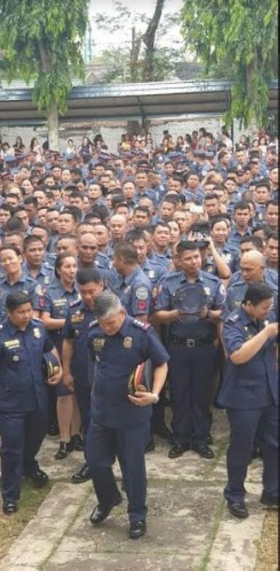 NEGROS. Newly-promoted police of the Negros Occidental Police Provincial Office. (Contributed photo)