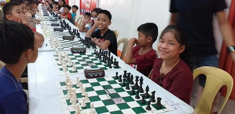 CAGAYAN DE ORO. Elementary participants of the Atty. Rufus Rodriguez Open Chess Tournament last weekend at the Nazarethy gym, Cagayan de Oro City. (Contributed photo)
