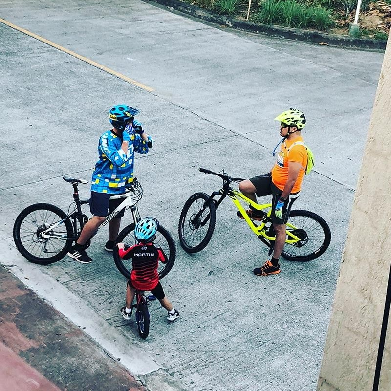 CAGAYAN DE ORO. Getting back up on the bike with our boys. (Contributed photo)
