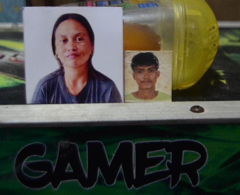 DANGEROUS LIAISONS? Police are looking into the possible ties of Agnes Pugoy (left) and Ricardo Avenido to illegal drug syndicates as motive for their killing. The couple is survived by seven children, all minors. (SunStar photo / Alan Tangcawan)