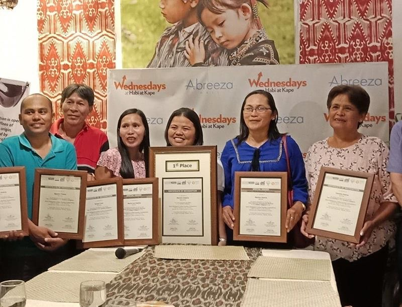 Farmers who are producing high quality specialty coffee and winners of the Philippine Coffee Quality Competition (PCQC) 2019. (Photo by Lyka Casamayor)