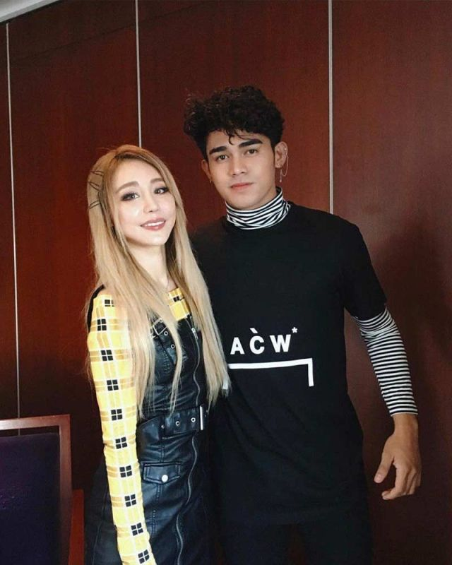 Wengie and Inigo Pascual