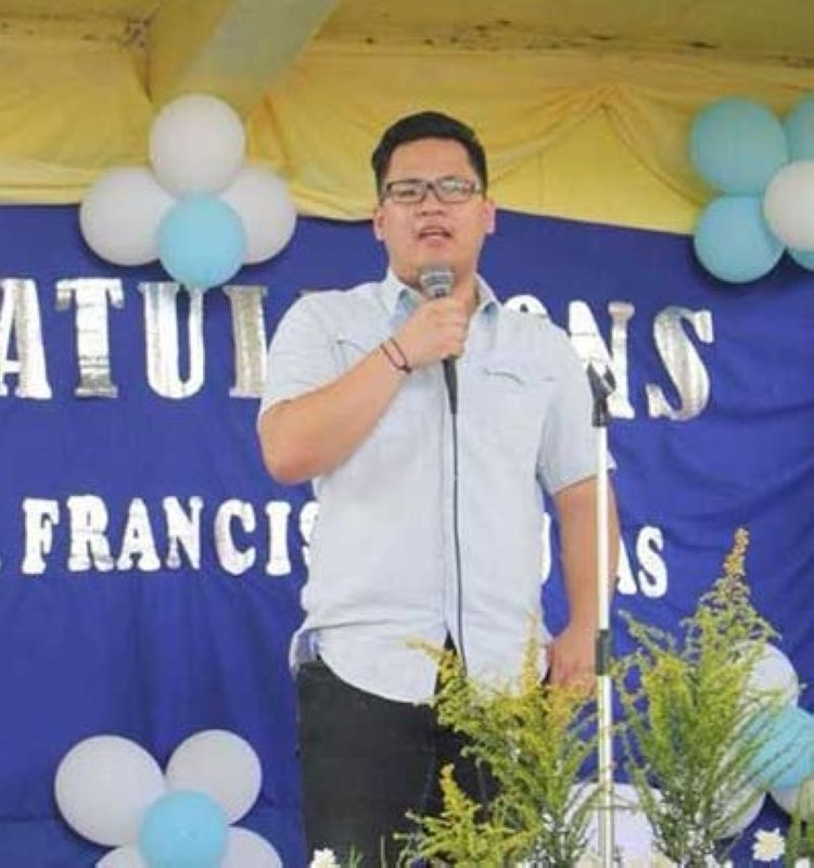 San Fernando Municipal Administrator Ricci Reluya. (photo courtesy of the San Fernando LGU Facebook page)