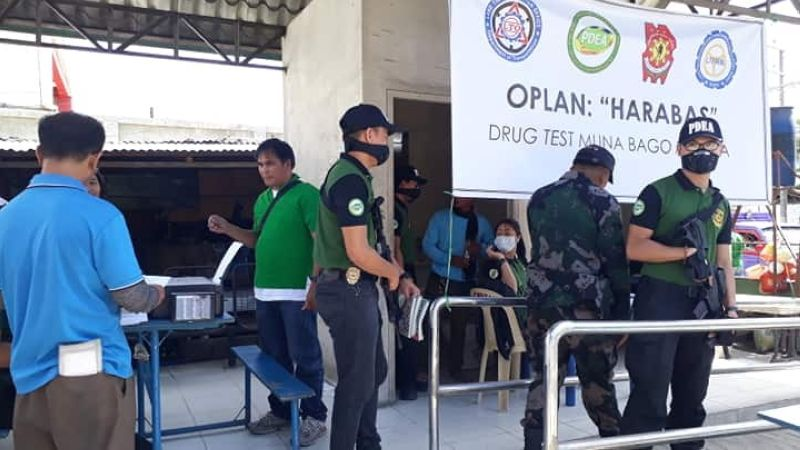 CEBU. Seven out of 174 drivers tested positive in a the random drug test conducted by the Philippine Drug Enforcement Agency (PDEA)-Central Visayas in three major terminals in Cebu City on Friday, March 29.