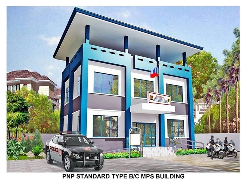 TACLOBAN. Artist's perspective of the PNP standard type municipal police station building. (Contributed photo)