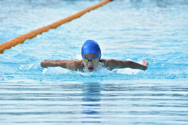 DAVAO. File photos of Lora Micah and Liaa Margarette Amoguis who collected a total of nine gold medals, five silvers and one bronze in the recently-concluded Philippine National Age Group Swimming Championships 2019 at the Davao del Norte Sports and Tourism Complex in Tagum City. (SunStar Davao File Photo)