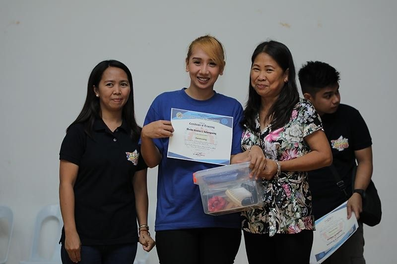 PAMPANGA. The City Government of San Fernando awarded certificates and starter kits to the completers of its Livelihood and Skills Training Program over the weekend at Heroes Hall. (Photo by CSF-CIO)