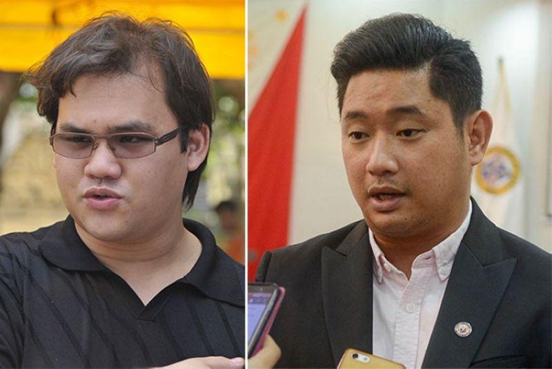 CEBU. Miguel Osmeña (left), son of Cebu City Mayor Tomas Osmeña, and Cebu Provincial Board Member Sun J. Shimura. (SunStar File)