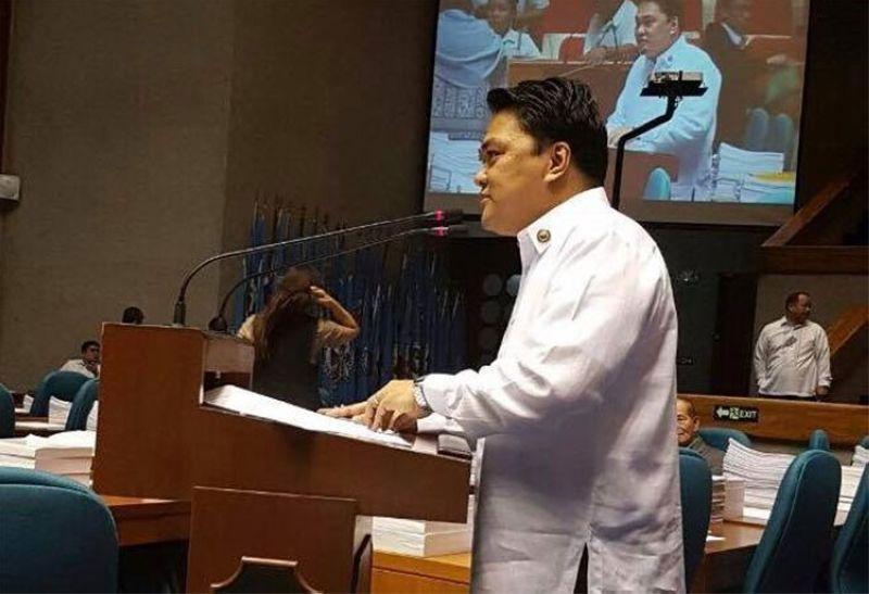 MANILA. Bacolod Representative Greg Gasataya. (Photo from Gasataya's Facebook page)