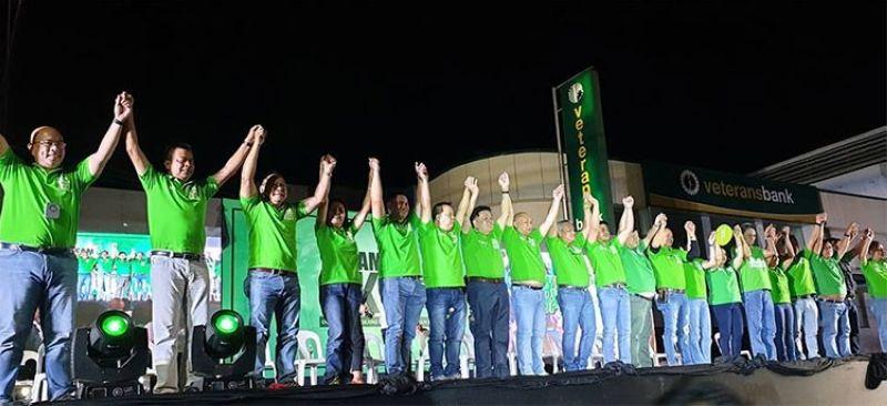 CAGAYAN DE ORO. Team OKKA endorses candidates of PDP-Laban during their grand rally. (Superbalita Cagayan de Oro)