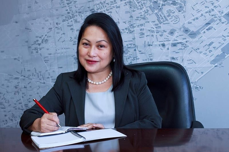WOMAN ON TOP. Ma. Teresa Beltran-Chan not only took a chance on business process outsourcing, she was also the first woman to lead the Cebu Chamber of Commerce and Industry. (Contributed photo)