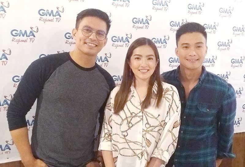 """Dragon Lady"" sa Cebu: Tom Rodriguez, Joyce Ching ug Edgar Allan Guzman (AC Martin)"