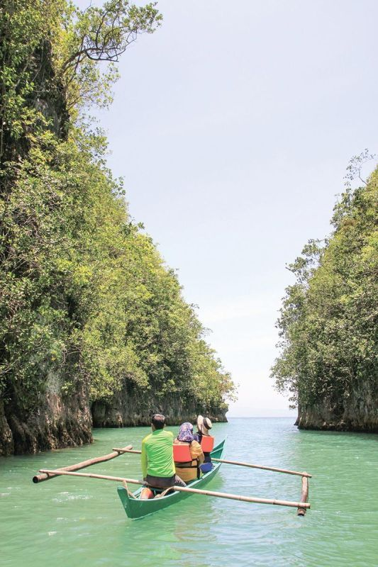 NATURAL WONDER. The Bojo River Cruise is constantly cited for its sustainable practices. Cebu Vice Gov. Agnes Magpale, chairperson of the Provincial Tourism Commission, says Cebu's natural wonders will continue to draw in tourists. (SunStar file)