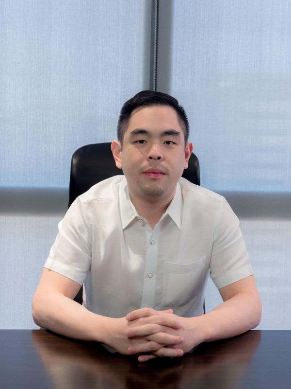 CHARGING AHEAD: Priland Development Corp. president Ramon Carlo Yap says a condo-office tower in Punta Engaño and a subdivision in Babag 2, Lapu-Lapu City are among the projects in the works. (Contributed Photo)