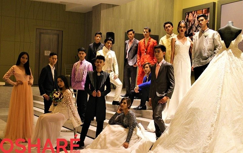 BAGUIO. Day 1: Baguio Bridal Expo Grooms and Bachelors Fashion Show.